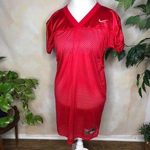 Nike Red Jersey Dress